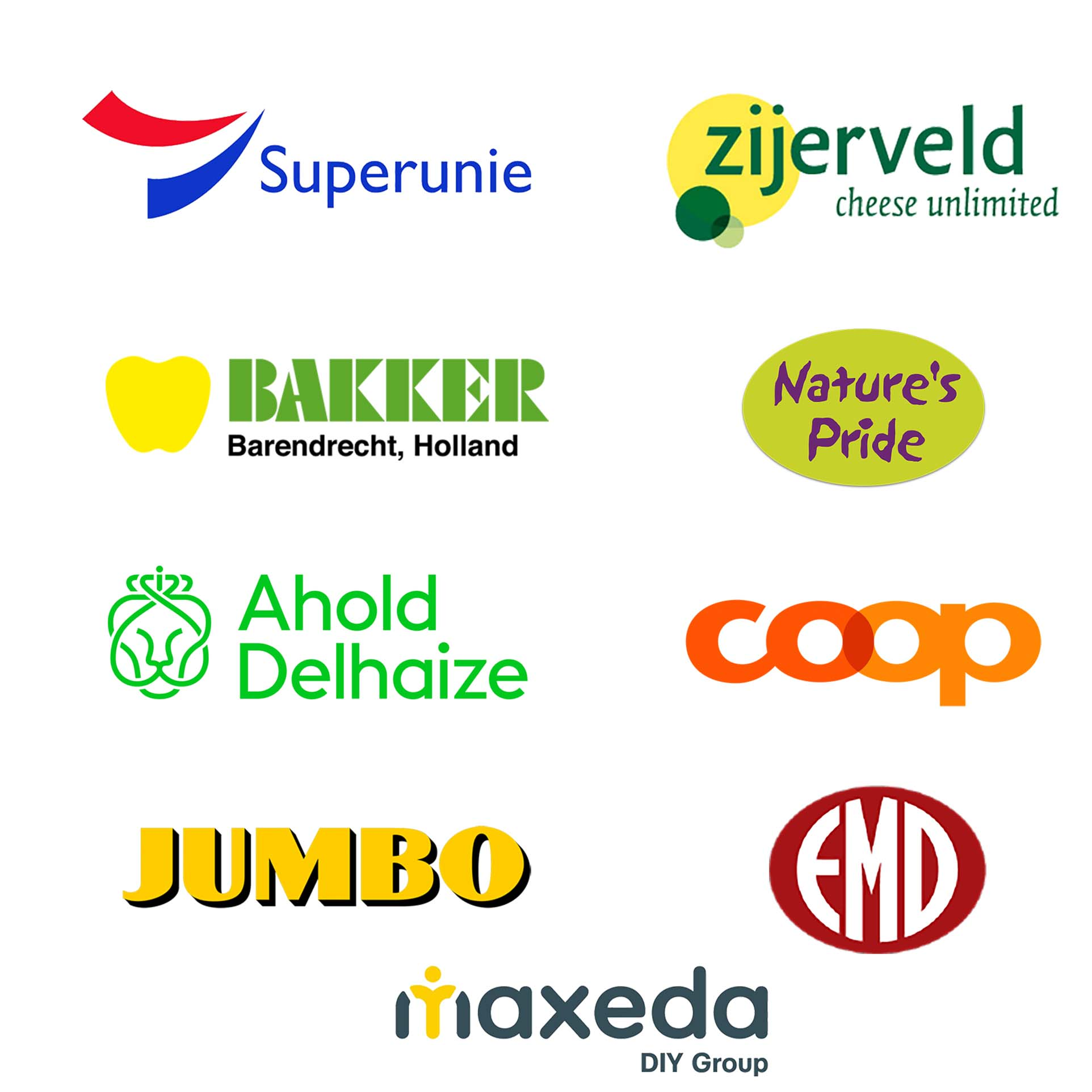 Trusted by Jumbo, Superunie, Ahold Delhaize - Our community